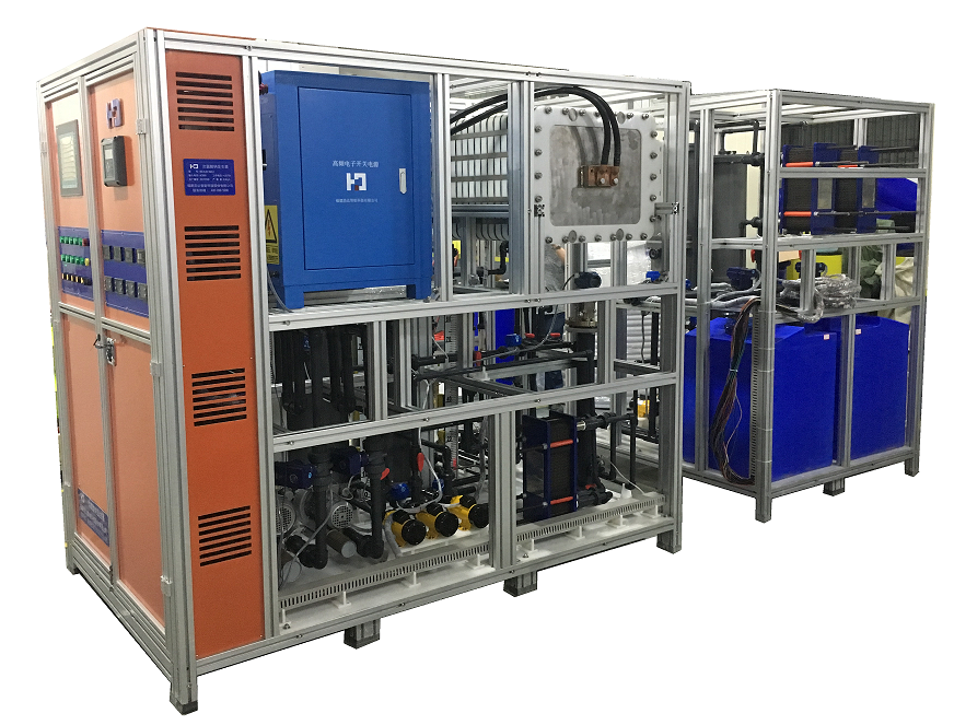 High concentration sodium hypochlorite generator system
